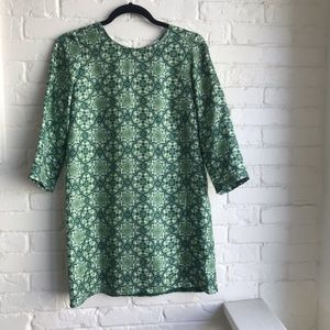 Anthropologie Nieves Lavi Ines Silk Tunic Dress 4